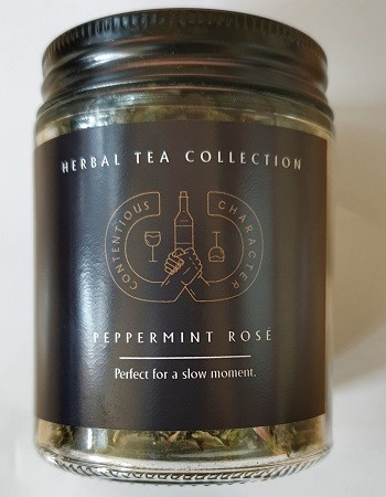 Peppermint Rose Tea